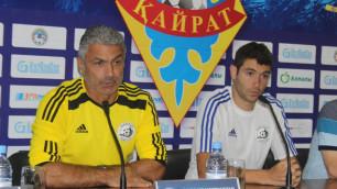 """У нас нет задачи победить, главное - показать хороший футбол в Алматы - тренер """"Алашкерта"""""""