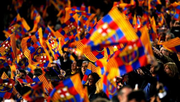 """""""Барселону"""" наказали за освистывание фанатами гимна Испании"""