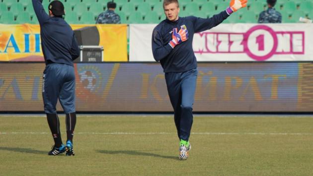 Казахстанский вратарь перейдет в сербский клуб