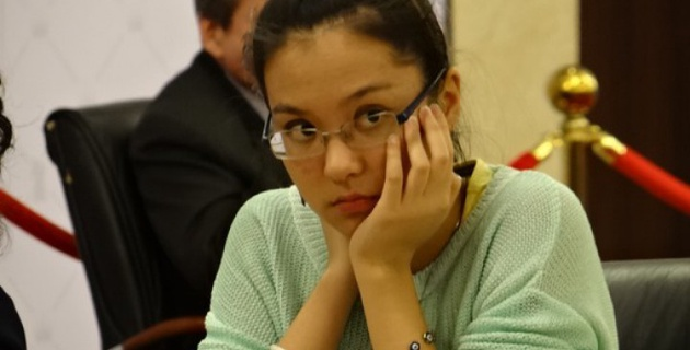 Динара Садуакасова входит в ТОП-5 после трех туров ЧА по шахматам