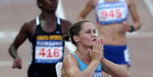Казахстанка Виктория Зябкина пробилась в полуфинал ЧМ в Пекине в беге на 100 метров