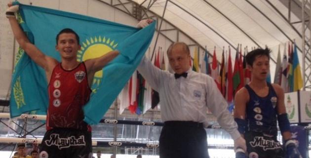 Видео победных боев сборной РК по муайтай на чемпионате мира