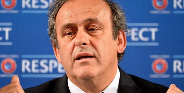 Платини отказался от участия в выборах президента УЕФА