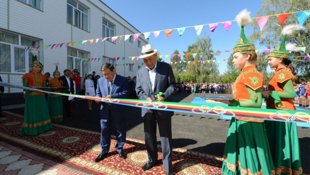 В Казахстане открыт первый сельский спортинтернат