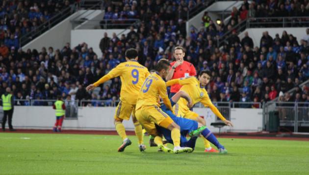 Сборная Казахстана в дебютном матче Меркеля сыграла вничью с Исландией