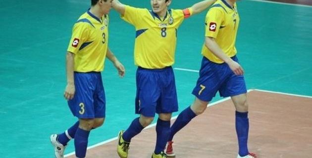 Казахстан на выезде разгромил сборную Боснии и Герцеговины по футзалу в стыковом матче Евро-2016
