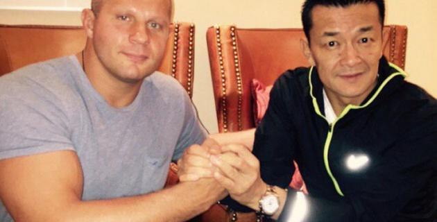 Федор Емельяненко объявил дату своего боя