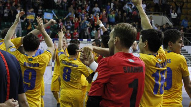 Сборная Казахстана по футзалу впервые в истории пробилась на чемпионат Европы