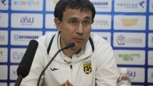 """Первый матч был проигран 0:3 и было очень сложно реабилитироваться - тренер """"Тобола"""""""