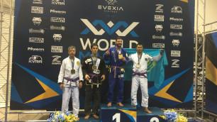 Астанинский спортсмен завоевал первую для Казахстана медаль ЧМ по основной версии джиу-джитсу