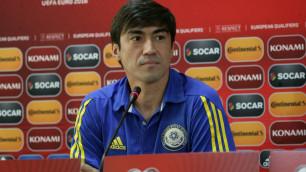 За сборную должны играть футболисты, родившиеся в Казахстане - Самат Смаков