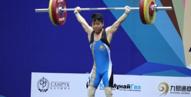Арли Чонтей стал победителем спартакиады по тяжелой атлетике в Талдыкоргане