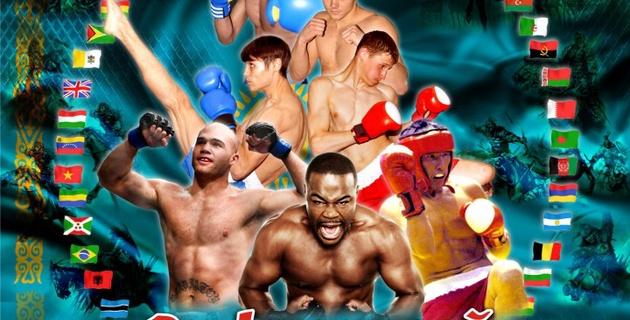 В Караганде прошел чемпионат мира по NOMAD MMA