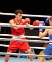 Казахстанец Олжас Саттыбаев победил в первом бою на чемпионате мира по боксу