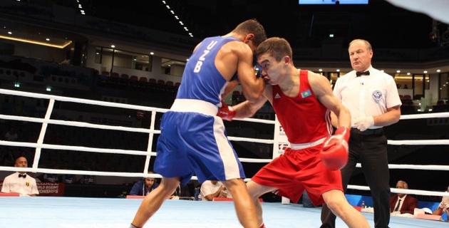 Кайрат Ералиев проиграл узбекскому боксеру на чемпионате мира в Катаре