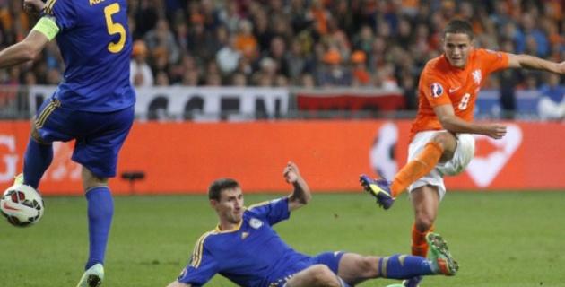 Анонс дня, 10 октября. Казахстан сыграет с Голландией в отборе на Евро-2016