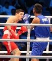 Елеусинов первым из казахстанцев вышел в полуфинал ЧМ по боксу в Катаре