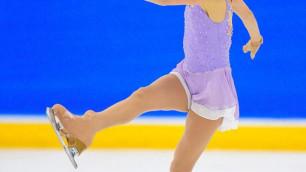 Фигуристка Турсынбаева выиграла турнир в Канаде с лучшим результатом в карьере