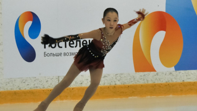 Турсынбаева заняла четвертое место на Гран-при по фигурному катанию в США