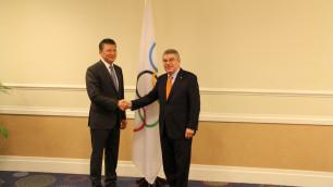 Мы планируем укреплять сотрудничество с Международным Олимпийским Комитетом - Тимур Кулибаев