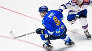 Найджел Доус признан лучшим игроком месяца в КХЛ