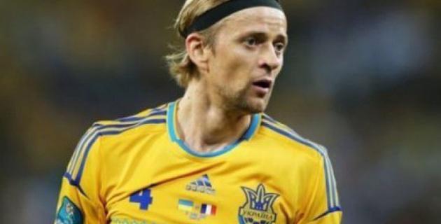 Тимощук вызван в сборную Украины на стыковые матчи Евро-2016