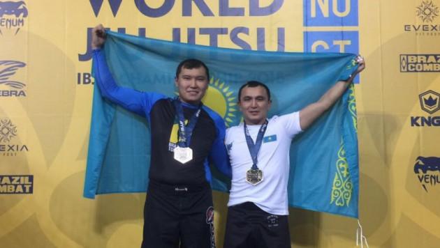 Айдар Махметов принес Казахстану первую медаль на ЧМ по джи-джитсу в разделе No-Gi