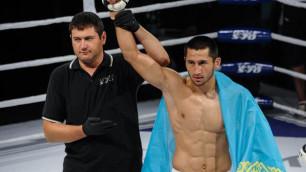 Казахстанец Арман Оспанов стал трехкратным чемпионом мира по самбо