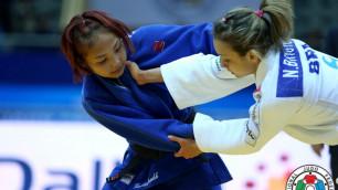 Натурализованная казахстанская дзюдоистка Отгонцэгцэг выиграла Гран-при в Корее