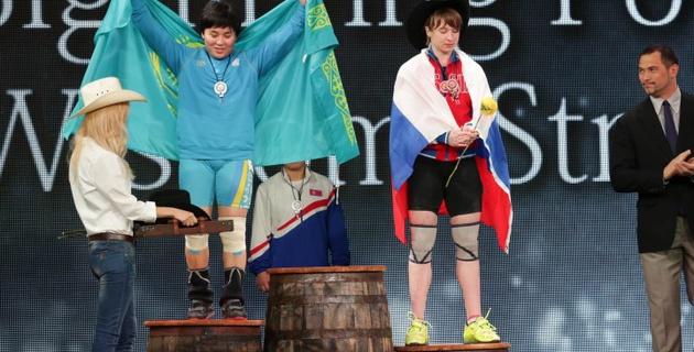 У меня мечта - стать казашкой-чемпионкой Олимпиады - Жапаркул