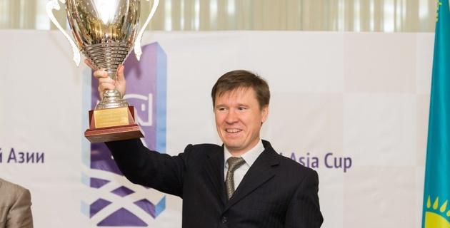 Сборная Казахстана по шахматам завоевала Кубок Центральной Азии
