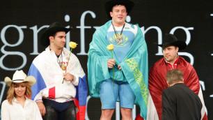 Глава НОК Кулибаев поздравил сборную Казахстана по тяжелой атлетике с успешным выступлением на ЧМ