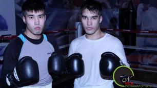 Братья-боксеры Жайлауовы успешно прошли взвешивание накануне своих боев