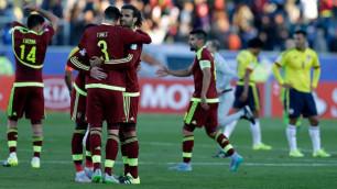 Игроки сборной Венесуэлы объявили о бойкоте матчей квалификации ЧМ-2018