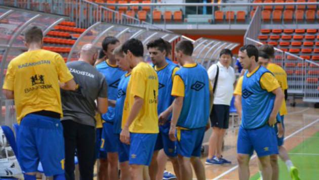 Назван окончательный состав сборной Казахстана на отборочные матчи ЧМ по футзалу