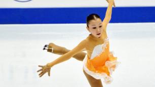 Казахстанская фигуристка Турсынбаева идет третьей после короткой программы на Golden Spin of Zagreb