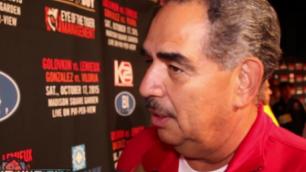 Проведение боя Головкин - Альварес в 155 фунтах Санчес назвал оскорблением для великих бойцов среднего веса
