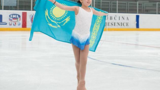 Казахстанская фигуристка Турсынбаева стала второй на турнире в Хорватии