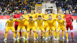 Сборная Казахстана по футзалу сегодня стартует в отборе на ЧМ-2016