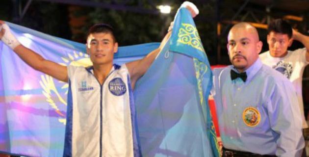 Бекман Сойлыбаев одержал седьмую победу на профи-ринге