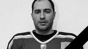 Известный казахстанский хоккеист Андрей Трощинский умер на 38-м году жизни