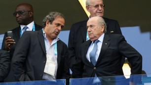 Блаттер и Платини отстранены от футбольной деятельности на восемь лет
