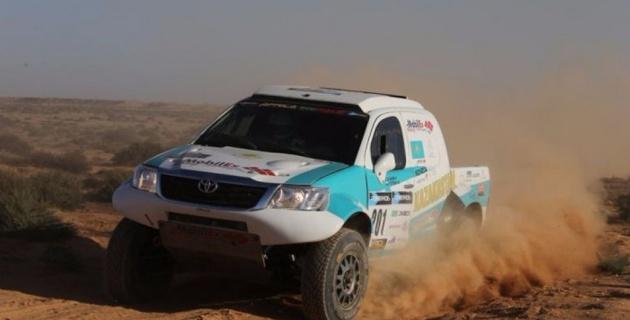 Казахстанский гонщик Шагиров выиграл седьмой этап Africa Eco Race-2016