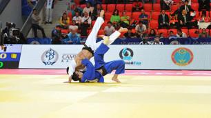 Одна нога здесь - другая в Рио. Кто из казахстанских дзюдоистов может паковать чемоданы на Олимпиаду?