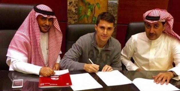 Маркос Пиззелли перешел в клуб из Саудовской Аравии