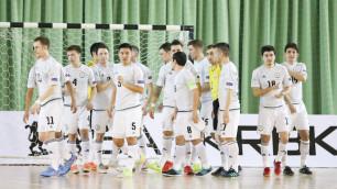 Прямая трансляция футзального матча Казахстан - Узбекистан