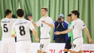 Сборная Казахстана по футзалу сыграет товарищеский матч с Украиной