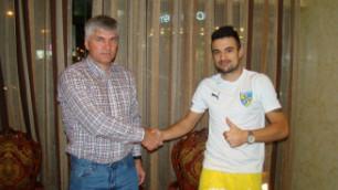 """""""Жетысу"""" продлил контракт с лучшим бомбардиром клуба прошлого сезона"""