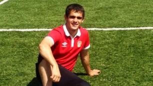 19-летний карагандинский футболист перешел в азербайджанский клуб
