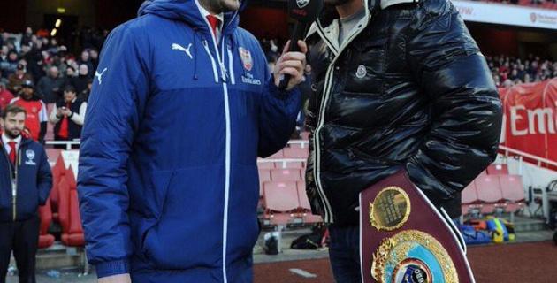 """Бой с Головкиным должен состояться только на стадионе """"Арсенала"""" - Билли Джо Сондерс"""